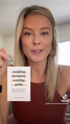 Need help with wedding invitation wording? Start here!