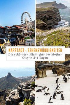 Kapstadt Sehenswürdigkeiten in 3-4 Tagen: Was du in Kapstadt in dieser Zeit alles erleben und entdecken kannst, erfährst du im umfangreichen Beitrag.