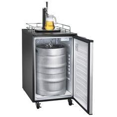 Single Tap Freestanding Beer Dispenser