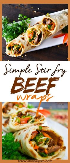 This beef wrap recipe works well as a quick fix during your day and you'd much rather avoid all the carbs and fats that life on the go provides. It's something you could prepare over the weekend, and refrigerate for easy pickup during your work/school week