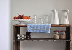 kitchen ideas from slowpokes cafe, via remodelista