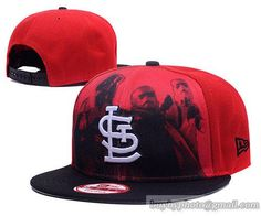 St Louis Cardinals Shadow Front 9Fifty Snapback Hats Red only US$6.00 - follow me to pick up couopons.