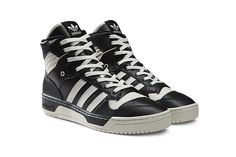 Adidas Rivalry Hi Black/White Vapour-Chalk