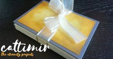 Cattimir - The eternity projects: Book binding, art journal, I Am Doing Well, Bone Folder, Yellow Paper, Organza Ribbon, Embroidery Fabric, Pretty Patterns, Book Binding, Little Books, Distress Ink