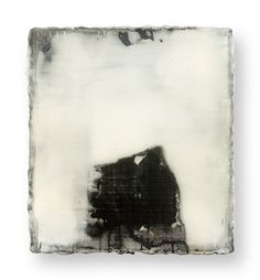 # 18362  YAMANOBE Hideaki * 1964  Klangass. Sound no. 28  acrylic on canvas  2008  21.5 x 19 x 4.5 cm