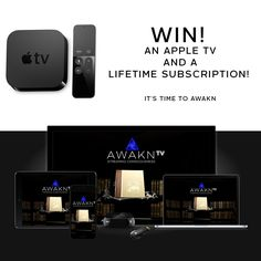 Win an Apple TV and Lifetime Subscription to AWAKN TV (Worth $50,000). Worldwide entry. Deadline September 15, 2017. http://vyper.io/c/1891/835630#terms
