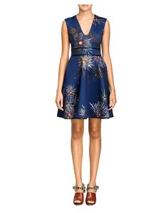 Cynthia Rowley - V-Neck Party Dress | New Arrivals