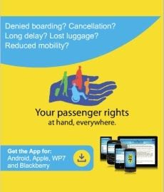 Passenger rights: new smartphone app to give you all your rights while travelling this summer - via VisitPortugal Blog / Source: European Commission and ANAM | Just in time for the summer holidays, the European Commission has launched an application for smartphones which covers air and rail transport and works on four mobile platforms: Apple iPhone and iPad, Google Android, RIM Blackberry and Microsoft Windows Phone 7... More info: http://ec.europa.eu/transport/passenger-rights/en/index.html