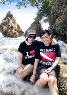Batu Karas beach located in the Village Batukaras, District Cijulang, Ciamis regency, West Java, which can be reached by vehicle approximately 45 minutes from Pangandaran.