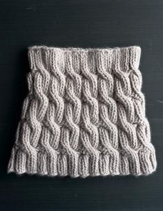Cozy Cable Cowl