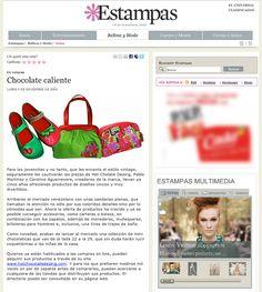 Estampas Magazine - Venezuela - 2009 #hotchocolatedesign #hcd #fashion #design #moda