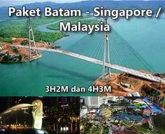 Batam - Singapore / Malaysia Package 3D2N and 4D3N. Available until Dec 2012. Price including flight ticket from Jakarta.    Paket Batam - Singapura / Malaysia 3H2M dan 4H3M. Tersedia sampai Des 2012. Harga termasuk tiket pesawat dari Jakarta