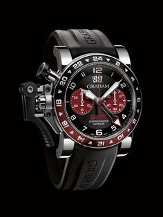 2OVGS.B20A « Oversize GMT steel « Chronofighter « Collection - Graham London #Watches #GrahamLondon #AttilaMéxico