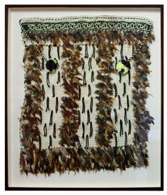 We framed this beautiful Maori Cloak to preserve it. Flax Weaving, Weaving Art, Maori Designs, Maori Art, Cloaks, Kite, Capes, Fern, Old And New