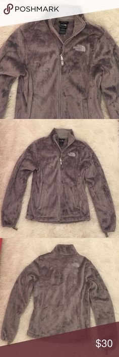 New North Face furry jacket NEW w/o tags. PERFECT condition. North Face Jackets & Coats