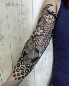 Sick fucking sleeve; hummingbird