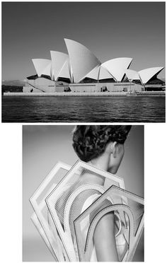 Architectural Fashion Design - 3D dress with angular shapes structural construction; wearable art // Winde Rienstra