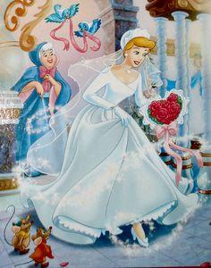 Solve Cinderella's Wedding jigsaw puzzle online with 120 pieces Cinderella Cartoon, Cinderella Movie, Cinderella Wedding, Walt Disney, Disney Pixar, Disney Characters, Cinderella Wallpaper, Disney Wallpaper, Disney Dream
