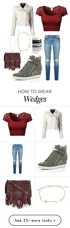 """""""Untitled #202"""" by peanut03411 on Polyvore featuring Rebecca Minkoff, J Brand, Proenza Schouler and River Island"""