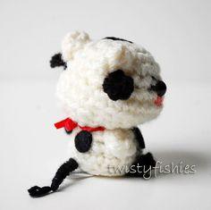 Baby Cow  Kawaii Mini Amigurumi Plush