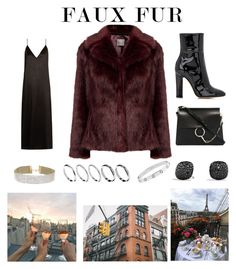 """""""Untitled #303"""" by lacywoods ❤ liked on Polyvore featuring Raey, Gianvito Rossi, Chloé, Miss Selfridge, ASOS, David Yurman and Cartier"""