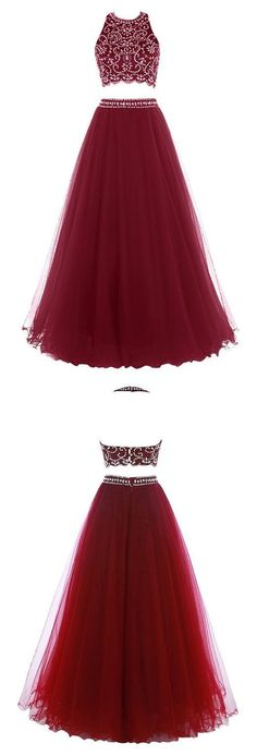 2 Piece Prom GownTwo Piece Prom DressesBurgundy Evening Pieces Party DressesBurgundy Evening GownsFormal Dress For Teens hochzeitsgast zweiteiler Kleider prom Formal Dresses For Teens, Prom Dresses 2016, Prom Outfits, Plus Size Prom Dresses, Designer Prom Dresses, Prom Party Dresses, Dance Dresses, Dresses Uk, Petite Prom Dress