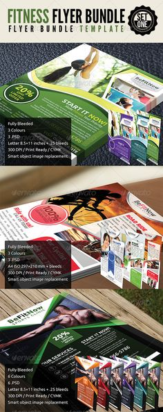 Gym \ Fitness Flyer Flyer printing, Gym fitness and Print templates - fitness flyer