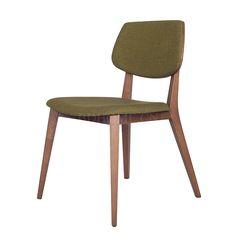 餐椅 橡木实木框架+布艺软包 Y131 W530*D600*H800 mm