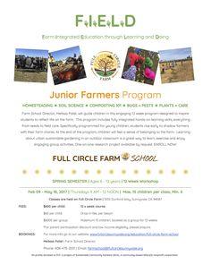 Full Circle Farm School 2017 «  Full Circle Farm