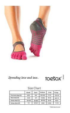 Socks 66078: Bellarina Full Toe Grip Non-Slip Ballet Yoga Pilates Barre Toe Socks For Women -> BUY IT NOW ONLY: $37.53 on eBay!