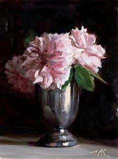 Garden roses ~ Julian Merrow-Smith