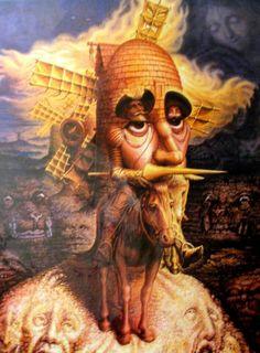 Don Quijote de la Mancha. Salvador Dalí.