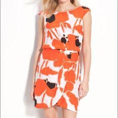 Plus Size 20w Jessica Simpson Poppy Print Dress