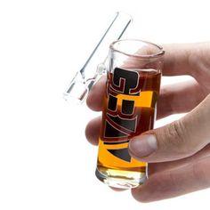 Grav Labs Shot Glass Taster Combo #Glass-Bats #Glass-Chillum #Glass-Chillums