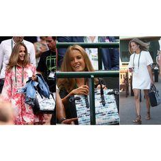 Kim Sears Wimbledon Style and the Aspinal Marylebone Tote by aspinaloflondon-1 on Polyvore