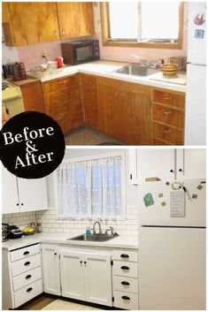 Exceptionnel Budget Kitchen Remodel: How I Remodeled My Small Kitchen For Less Than $400