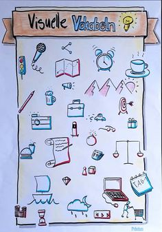 #Flipchart, #Visualisieren, #Visuelle Vokabeln - #Flipchart #plakat #Visualisieren #Visuelle #Vokabeln Machine Learning Deep Learning, Visual Note Taking, Visual Map, Visual Thinking, Note Doodles, Love You To Pieces, Drawing Sketches, Drawings, Unicorn Art