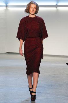 Rodarte Fall 2012 Ready-to-Wear Fashion Show - Julia Suszfalak