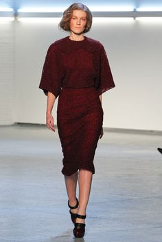 Rodarte Fall 2012 Ready-to-Wear Fashion Show - Julia Suszfalak