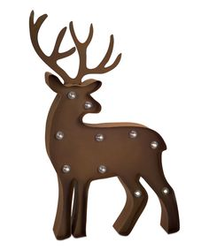 Look at this Marquee LED Light-Up Deer Statue on #zulily today!
