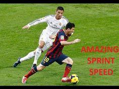 Cristiano Ronaldo Vs Lionel Messi ● Amazing Sprint Speed