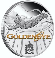 James Bond Time To Die Movie Poster 35g Silver Foil | Coins Boutique