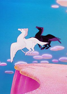 Fantasia (1940) La Pastoral Scene #Disney #Pegasus Disney Pixar, Walt Disney, Disney Characters, Retro Cartoons, Twilight Sparkle, Cute Disney, Rainbow Dash, Princesas Disney, Mythical Creatures