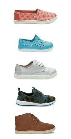 Have you seen the new TOMS kids collection?