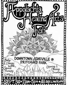 The Appalachia Guild Of Healing Arts presents it's first holistic healing arts fair! . Come to Prichard Park on Saturday September 30th  11 AM to 5 PM to meet local Asheville practitioners! . There will be healing services offered as well as a variety of vendors! . AppalachiaHealingArts.com . #asheville #ashevillenc  #ashvegas #828isgreat #supportlocal #massage #fair #healing #handmade #crystals #plants #readings #soundhealing