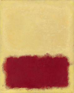 Untitled by Mark Rothko, 1958.