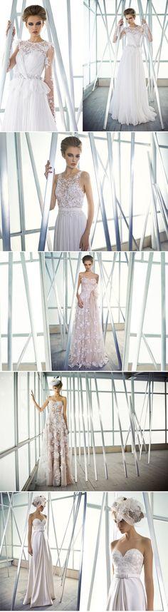 beautiful Mira Zwillinger wedding dresses