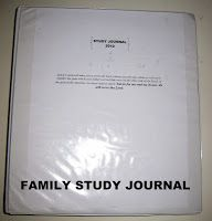 Happiness is Homemade: Family Study Journal
