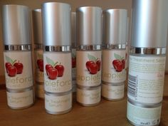Microdermabrasion products made my Appleford Clinic with a gorgeous apple scent! Makes your skin feel amazing.