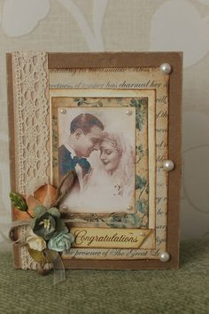 Wedding Card...Scrapbook.com.